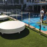 Easigrass at Ibiza Rocks near the pool