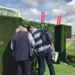 People looking round the royal country berkshire show