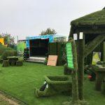 Easigrass display - winners of royal county Berkshire show award