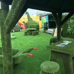 artificial grass display - royal country berkshire show