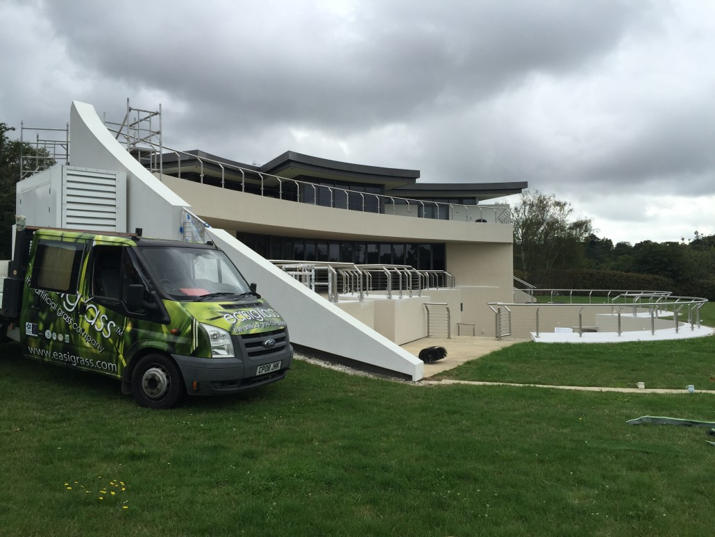 Most expensive house in Hampshire Easigrass installation