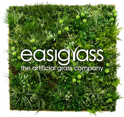 Easigrass plant wall for John Lewis