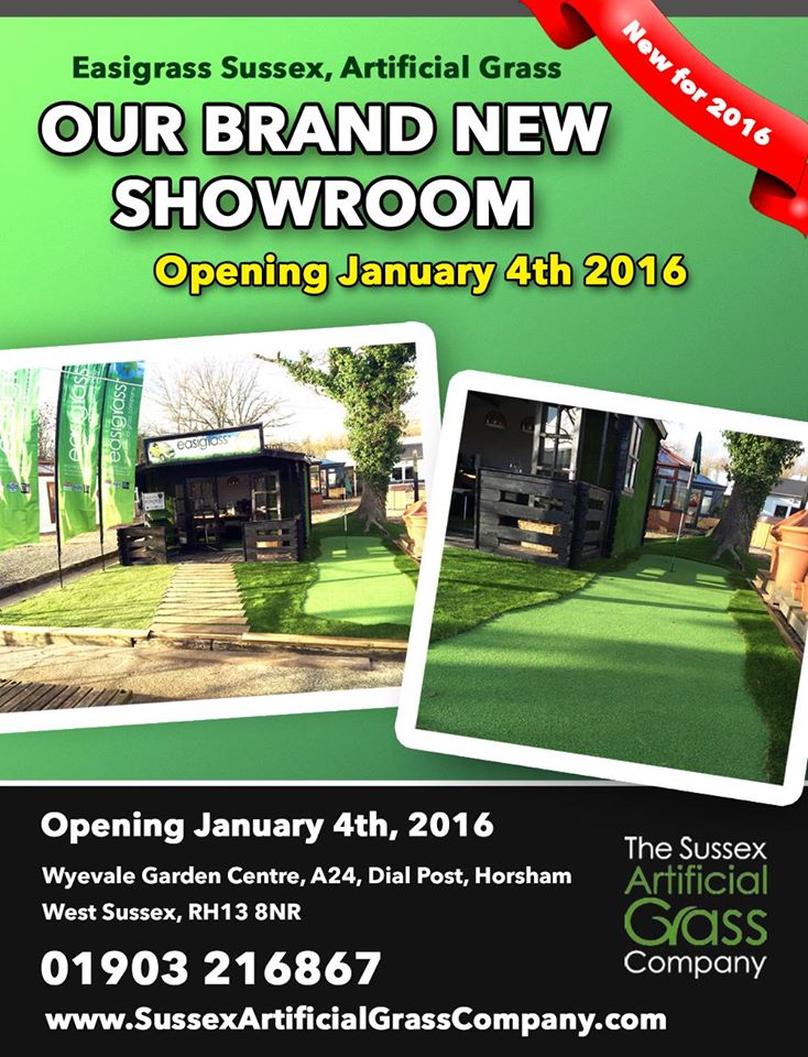 Sussex showroom opening for Easigrass