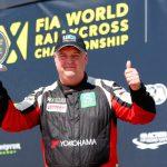 Easigrass sponsorship - british rallycross championship winner