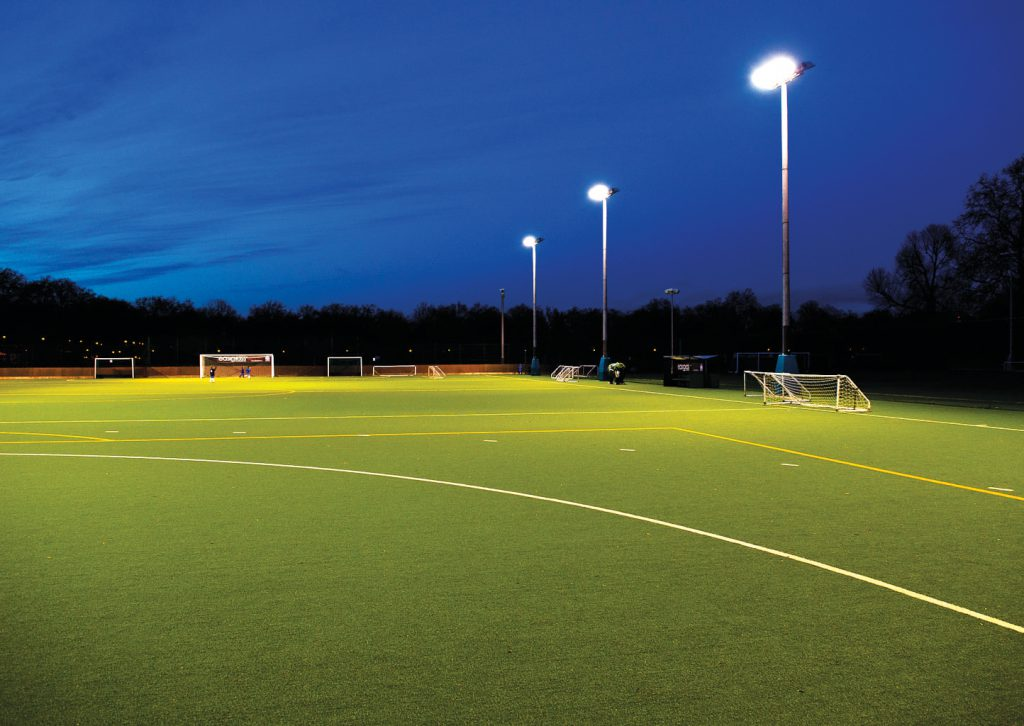 artificial grass sports surface - football pitch