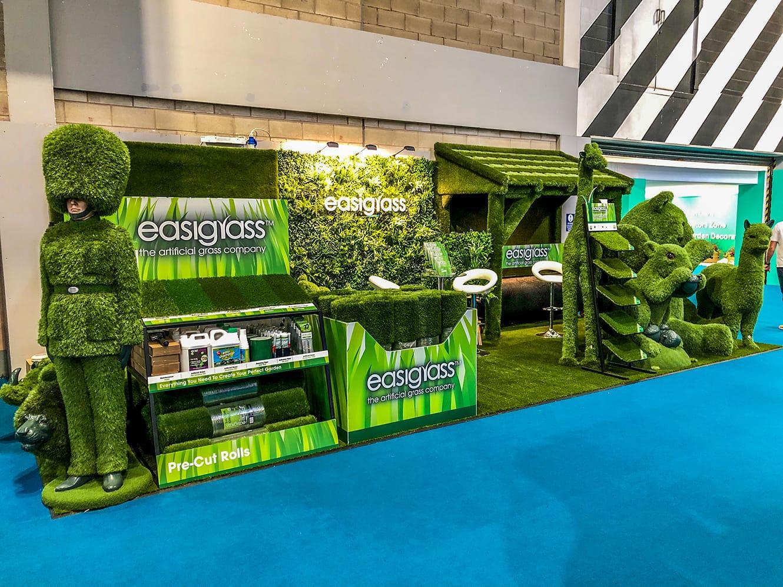 Easigrass at artificial grass exhibition