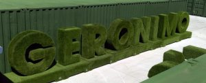 Artificial grass signage - artificial grass letters