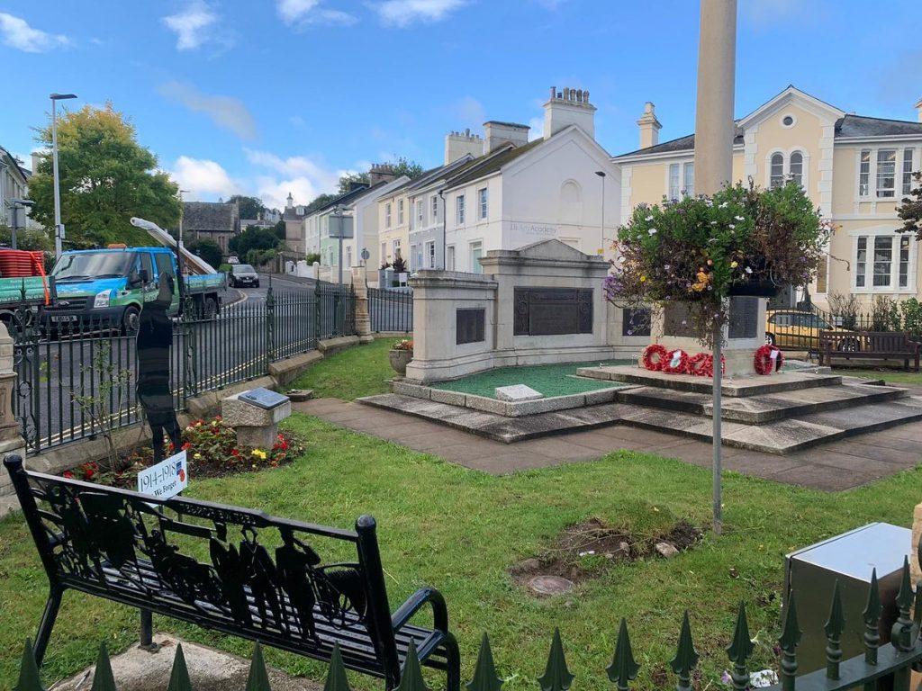 Newton Abbot War Memorial Restoration